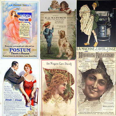 Product picture 392+ 1920s Vintage Poster Advertisement