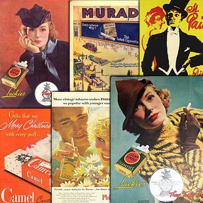 Product picture 289 Vintage Cigarette Poster Ads Collection 2